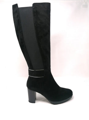 Lisa Kay Knee Length Suede Boots