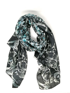 Laura Orchant Silken Jewel Large Rectangle Scarf