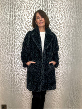 Rino & Pelle Animal Print Faux Fur Coat
