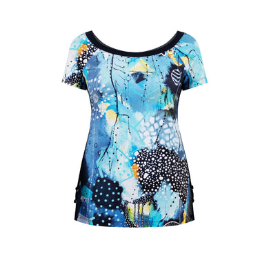 Dolcezza T-Shirt 20621 Blue/Turquoise