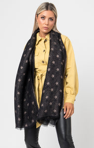 Pia Rossini Sparkle Star Scarf