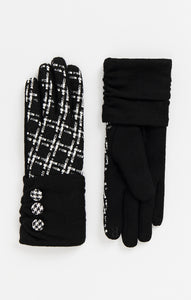 Pia Rossini Monochrome Gloves