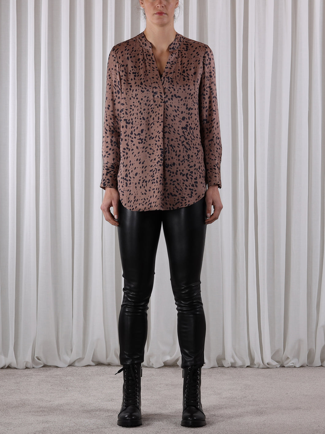 Rino & Pelle Animal Spot Blouse - Magin