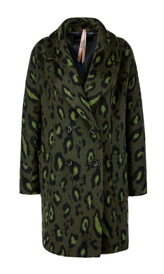 Marc Cain Additions Animal Print Coat
