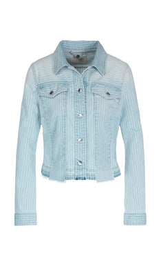 Marc Cain Collection Denim Jacket NC 31.12 D04 Pale Denim