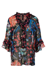 Marc Cain Collection Firework Print Blouse