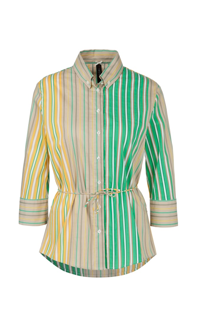 Marc Cain Collection Shirt NC 51.24 W43 Yellow/Green