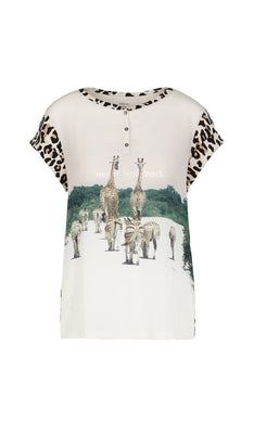 Marc Cain Collection T-Shirt NC 55.07 J93 Animal