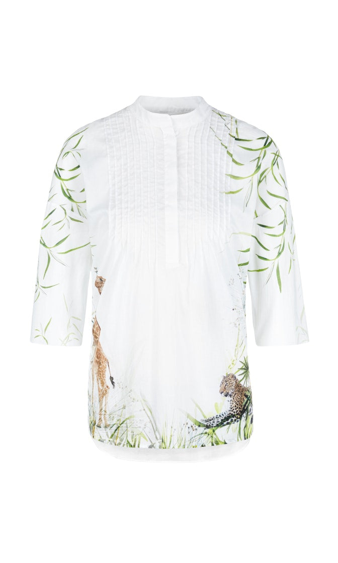 Marc Cain Collection Shirt NC 55.17 J64 White