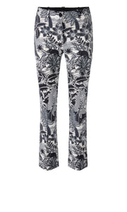 Marc Cain Collection Jungle Print Neoprene Trousers
