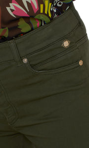 Marc Cain Collection Dark Green Jeans