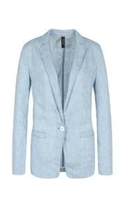 Marc Cain Sport Linen Jacket NS 34.14 D11 Chambray