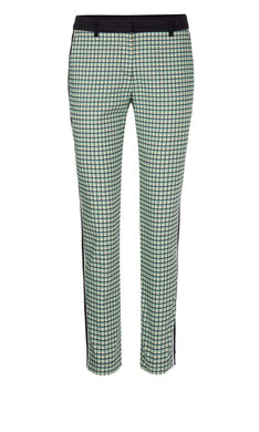 Marc Cain Sport Trousers NS 81.19 W29 Turq/Navy/Green