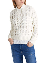 Marc Cain Sport Pale Pink Holey Sweater