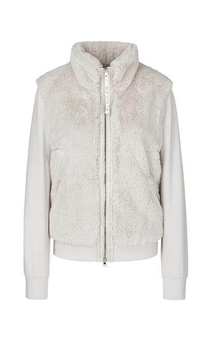 Marc Cain Sport Faux Fur Jacket