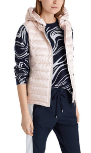 Marc Cain Sport Pale Pink Quilted Gilet