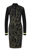 Marc Cain Sport Zebra Print Neoprene Dress