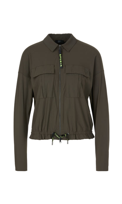 Marc Cain Sport Neoprene Shirt Jacket