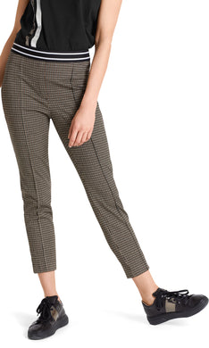 Marc Cain Sport Small Check Pull On Trousers
