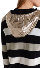 Marc Cain Sport Metallic Jacket with Shiny Hood