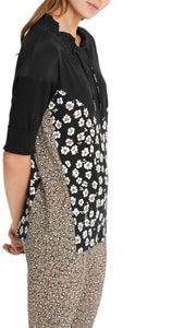 Marc Cain Sport Animal & Floral Print Top