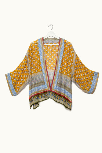 One Hundred Stars Kimono MOORISH MUSTARD