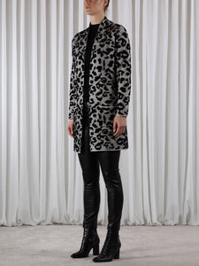 Rino & Pelle Animal Print Coatigan
