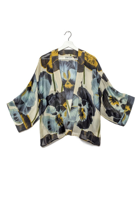 One Hundred Stars Pansy Kimono