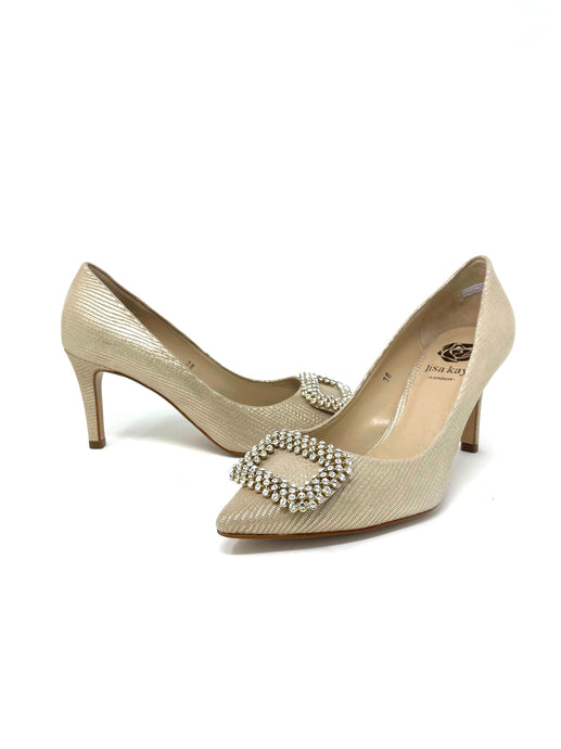 Lisa Kay Bronze Court Shoe