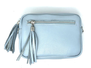 Topaz Glow Pale Blue Camera Style Bag