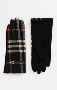 Pia Rossini Check Gloves