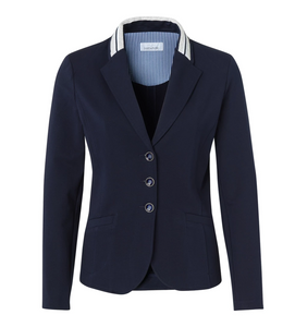 SE Just White Jersey Jacket - 42217 - Navy SS20