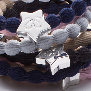 ByEloise Navy Hairband with Silver Star