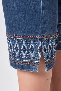 Toni Cropped Jeans 1107-76 DENIM