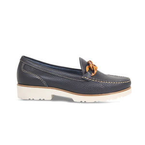 Lisa Kay Tasha Loafer - Navy