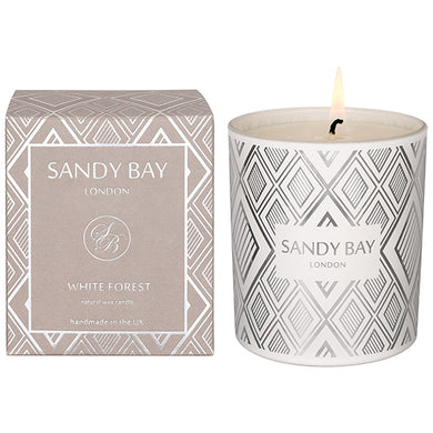 Sandy Bay White Forest Christmas Collection Candle