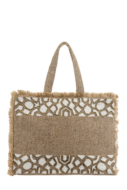 ALEX.MAX Beach Bag - BO2000 - Natural