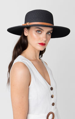 Pia Rossini Dawn Hat Black DAW01560