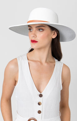 Pia Rossini Dawn Hat White DAW01560