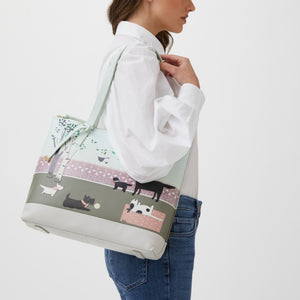 Radley Weekend Walkies Radley and Friends Picture Tote Bag
