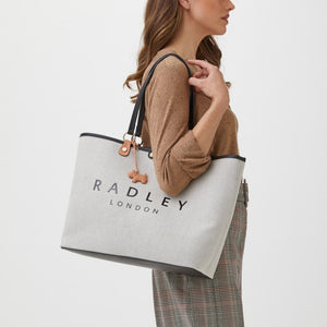 Radley Addison Gardens Natural Medium Open Top Tote Bag