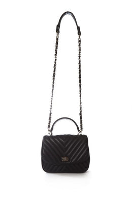 Malissa J Quilted Bag - HB445 - Black - SS20