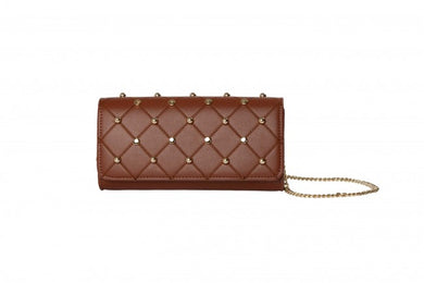Malissa J Clutch Bag - HB604 - Tan - SS20