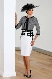 Luis Civit Black & White Dress & Jacket