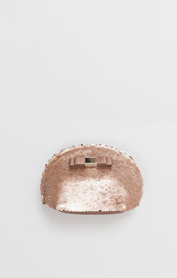 Pia Rossini Kasha Make Up Bag KAS00525 BLUSH