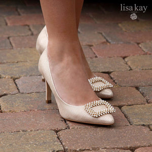 Lisa Kay Cecilia Court Shoe BRONZE