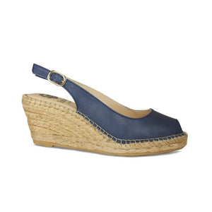 Lisa Kay Wedges - Emmy - Navy SS20