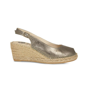 Lisa Kay Wedges - Emmy - Pewter SS20