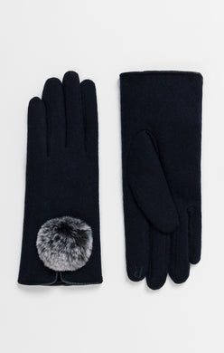 Pia Rossini Pom Pom Gloves