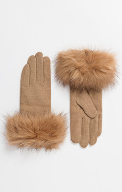 Pia Rossini Caramel Gloves